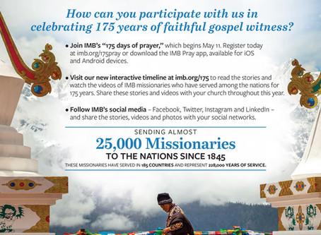 175 Timeline-International Mission board