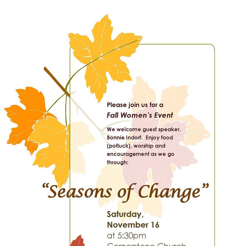"Women's Event - ""Seasons of Change"""