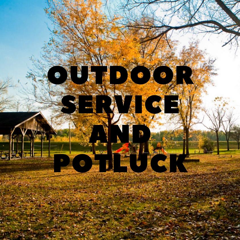Outdoor Service & Potluck