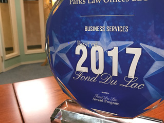 Parks Law Offices Wins Best of 2017 Award