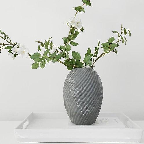 Canna Vase Gloss Grey