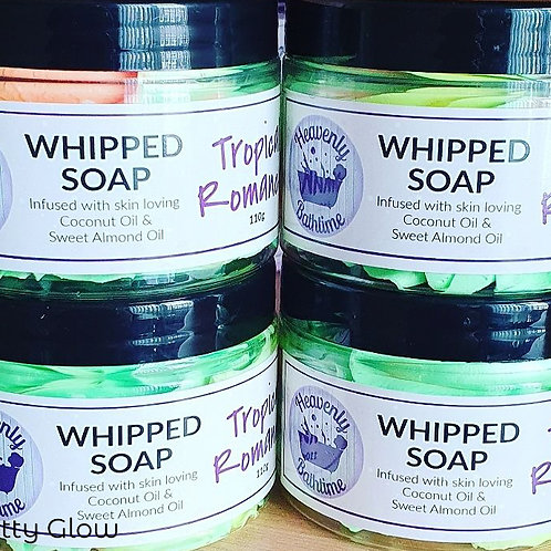 Tropical Romance Whipped Soap