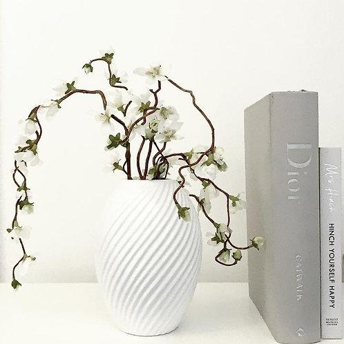 Canna Vase Gloss White