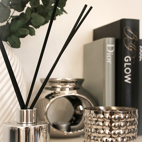 Medium Silver Bobble Candle