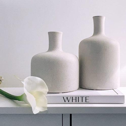 Textured Teo Vase