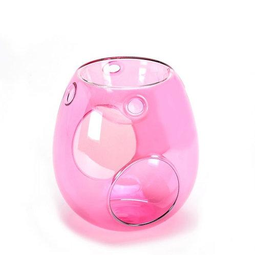 Pink Pearlescent Wax Burner