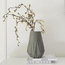 Aster Vase Gloss Grey