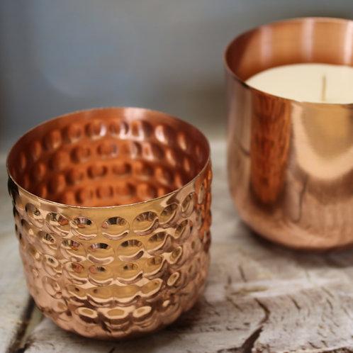 Medium Copper Bobble Candle
