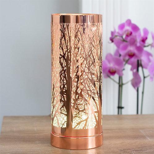 Rose Gold Tree Aroma Lamp