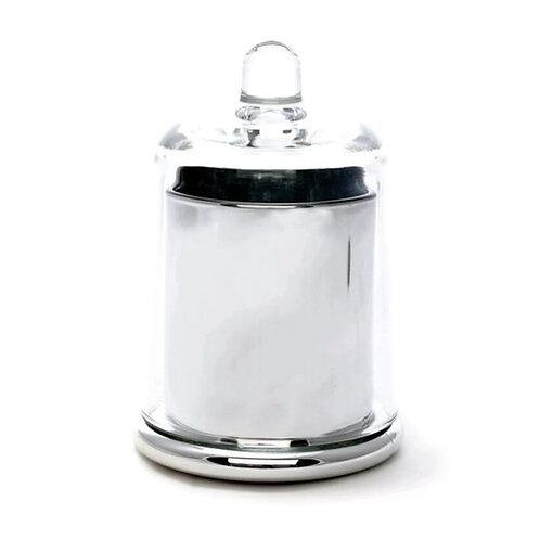 Silver Cloche Candle