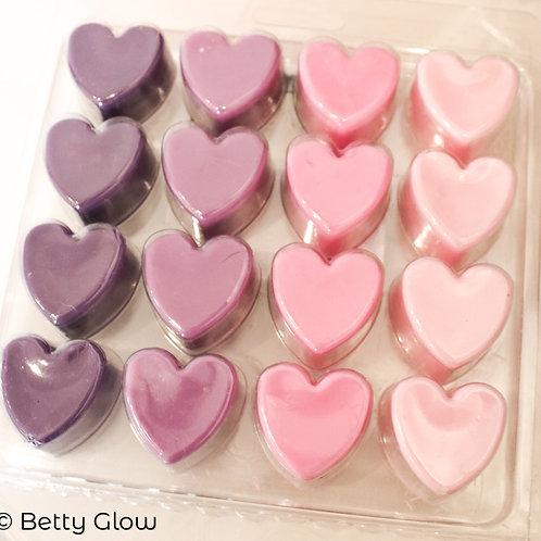 Wax Melts 16 Hearts