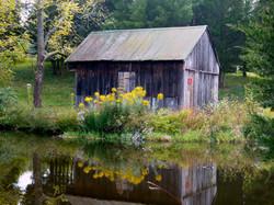 Granary_behind pond