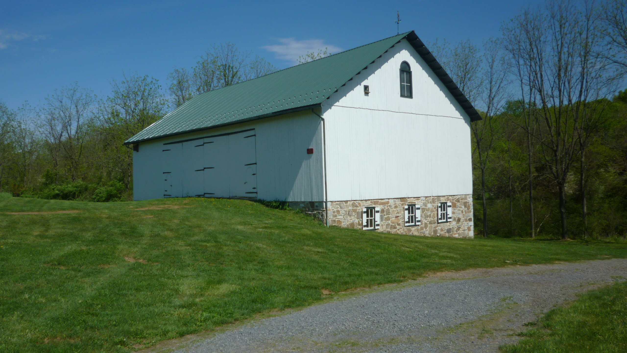 Hottenstein Barn-New Roof