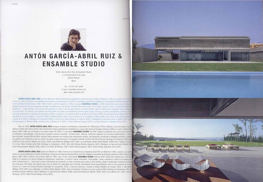 ENSAMBLE STUDIO ARCHITECTURE NOW 9 MARTEMAR HOUSE
