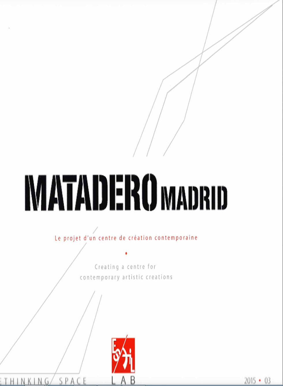 ES MATADERO MADRID READER'S HOUSE