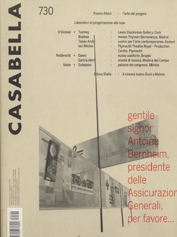 ENSAMBLE STUDIO CASABELLA AUDITORIUM