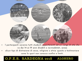 Entra in squadra - Alghero 2018