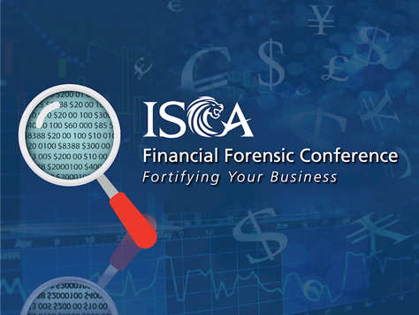 Cynopsis at ISCA Financial Forensic Conference