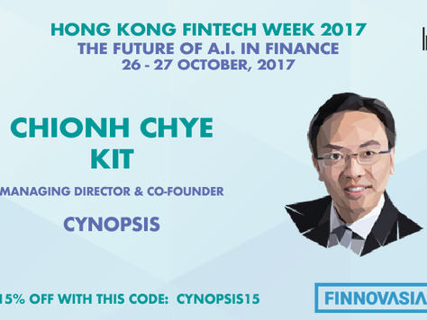 Cynopsis Supports HK FinTech Week