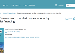 FATF Mutual Evaluation Report on Singapore