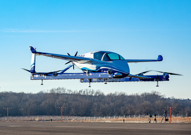 Boeing's Autonomous Passenger Air Vehicle Completes its First Test Flight