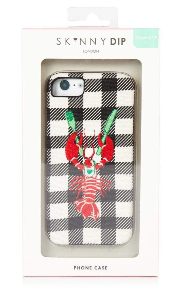 Skinnydip London 'You're my lobster' case