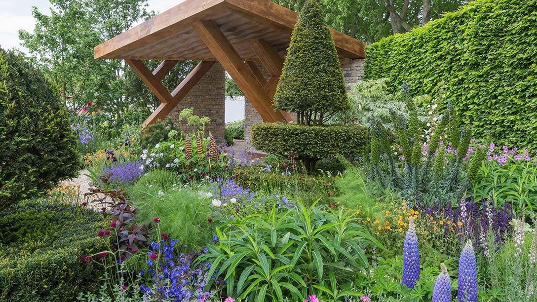 People's Choice. Chris Beardmore's Morgn Stanley Garden