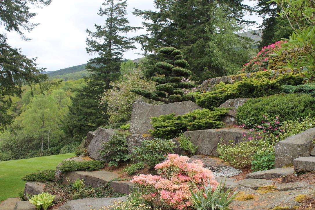The Rock Garden at Dun Dubh