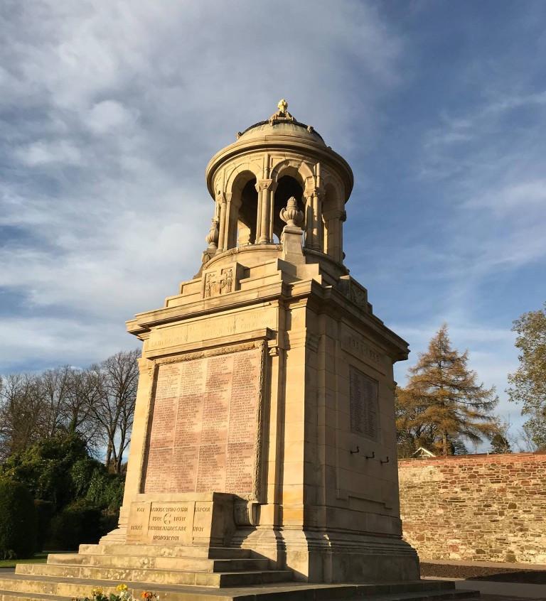 Restored War Memorial