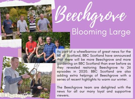Beechgrove - great news for 2020