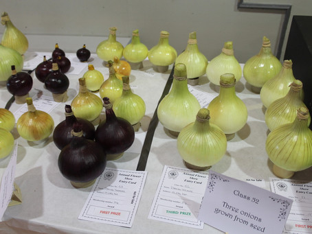 169th Annual Flower and Vegetable Show Results