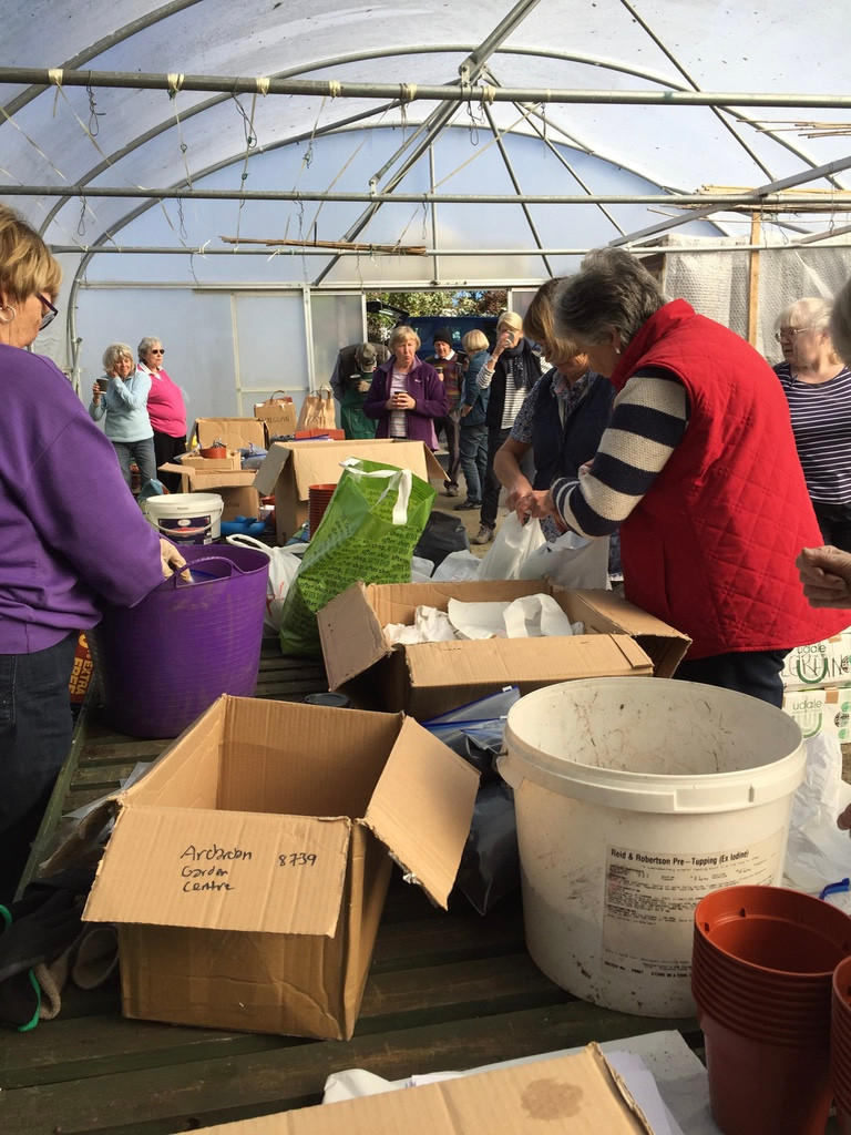 Bulb packing at Ardarden Farm