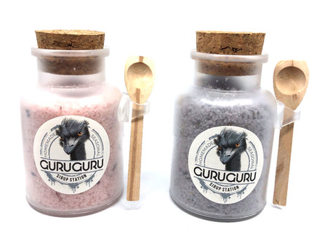 Natural Soaps and Bathsalt - Our next All-Year productlines