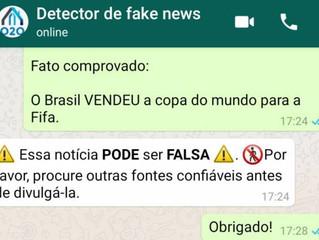 Brasileiros criam detector de fake news que responde pelo WhatsApp