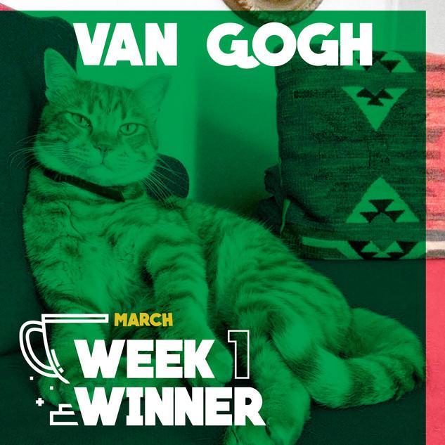 March Week 1 Winner