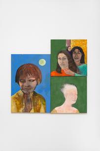 Stanislava Kovalčíková, Zoom, 2021, oil on canvas, 105 x 100 cm