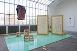 Antagonism of me and you, diploma installation set view, Accademy of Fine Arts, Prague