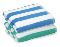 TM Island Stripe Towels