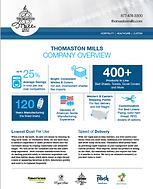 Thomaston Mills Company Overview