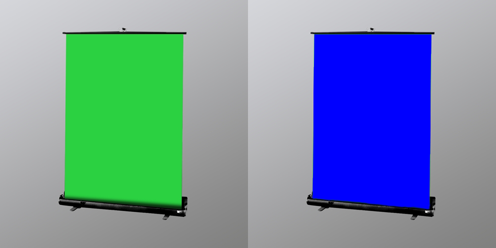 chromakey screen