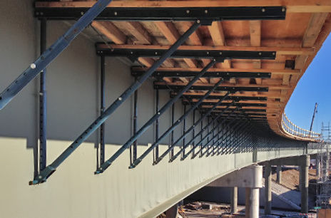 Photo of a BH-49 Bridge Overhang Bracket manufactured by Gamco Inc, Dayton Superior C-49