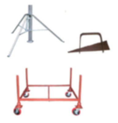 Post Shore Stacking Rack, Tripod, and Wedge Clamp