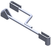 Gamco BH-60 90°/45° Hanger w/ Supplemental 90°