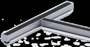 Dropshore aluminum beams