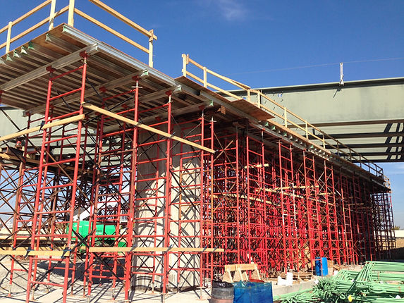 Photo of 10K HD Scaffold Type Shoring by Gamco Inc.