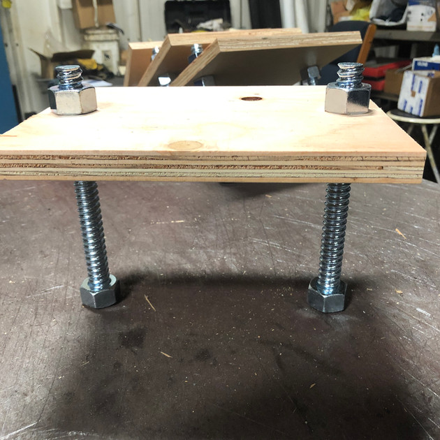Stanchion Templates w/ Bolts (for precast)