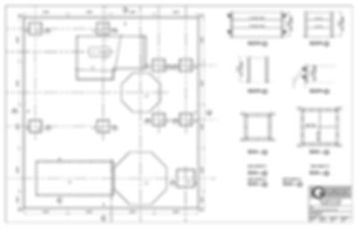 Gamco concrete forms layout drawings