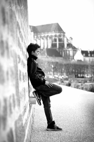 Séance photo ado à Auxerre avec Valentin