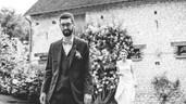 La découverte des mariés en toute intimité