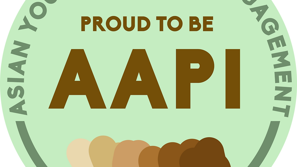 Proud to be AAPI Button